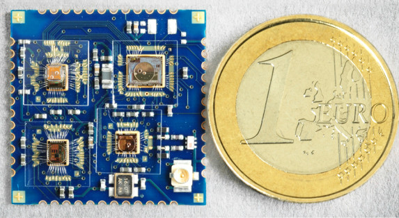 Wireless ECG Sensor in SiP Technology