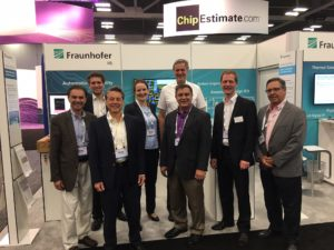 EDATechForce at the Fraunhofer booth at DAC 2017